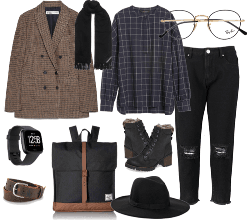niche girl\every day outfit for student