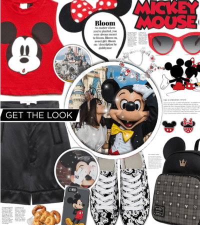 Get The Look: Mickey inspired Disney vacation