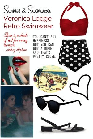 Retro Swimwear: Veronica Lodge
