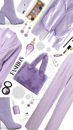 purple winter Monochrome