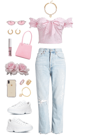 muted pastels - pink