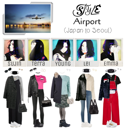 STYLE At The Airport (Japan to Seoul)