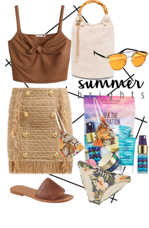 summer babe on the go