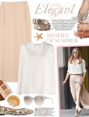 Summer Neutrals - Olivia Palermo Style