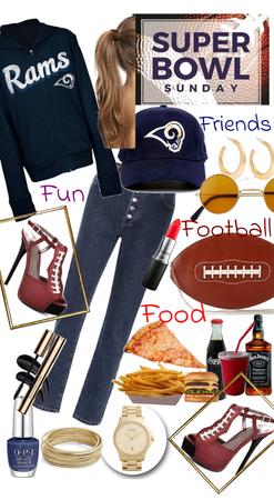 Super Bowl - Friends Football Food & Fun