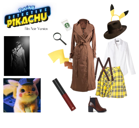 Detective Pikachu - Film Noir Version