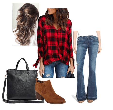Plaid Fall Look