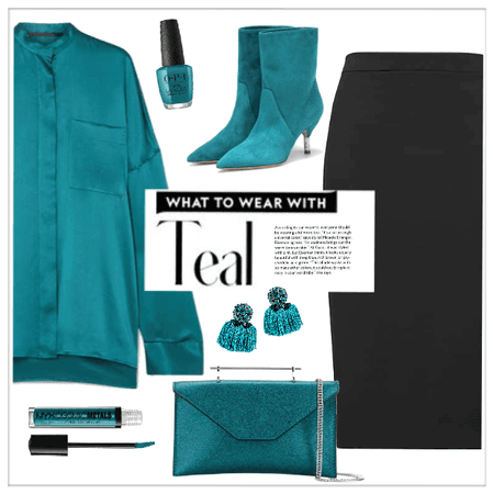 What To Wear With Teal!