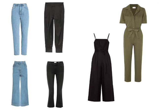 spring capsule - jeans and jumpsuit
