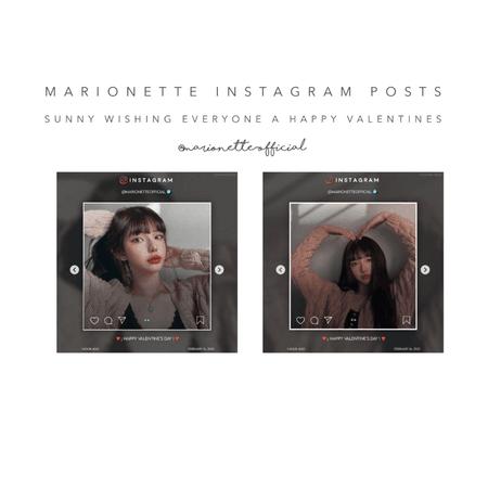 마리오네트 (𝗠𝗔𝗥𝗜𝗢𝗡𝗘𝗧𝗧𝗘) - [SUNNY] Instagram Post