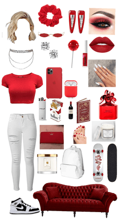 Modern Red Beauty