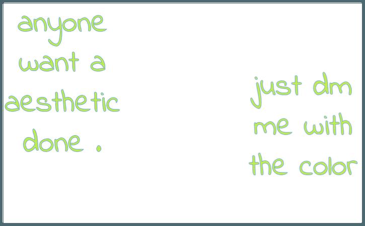 just dm me