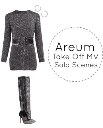 Areum Take Off MV Solo Scenes