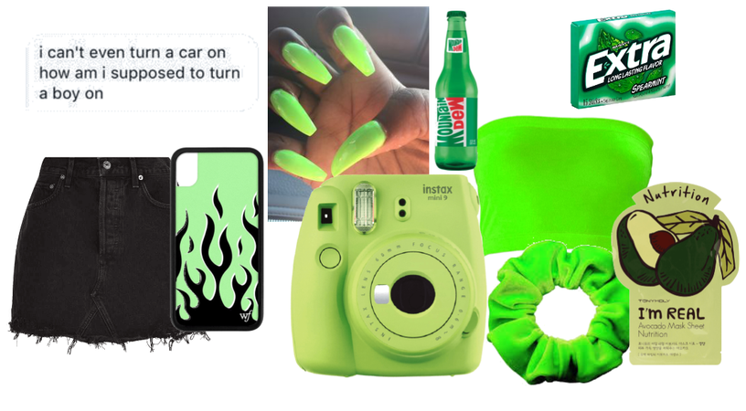 Green as a person
