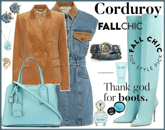 corduroy fall chic