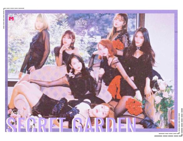 {MARIONETTE} 'Secret Garden' Group Poster