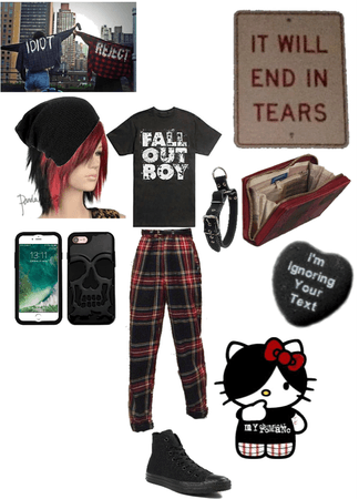 Indie/Grunge Outfit.