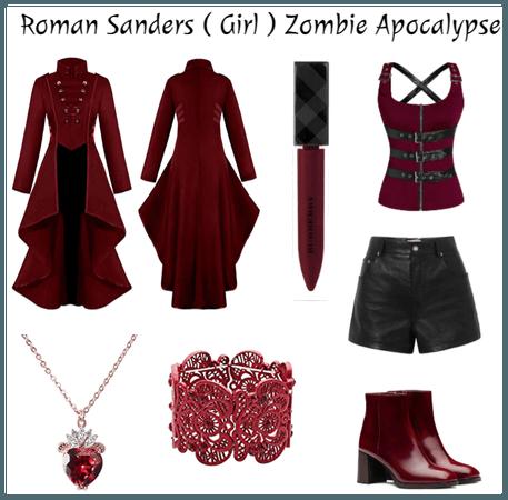 Roman Sanders ( Girl ) Zombie Apocalypse