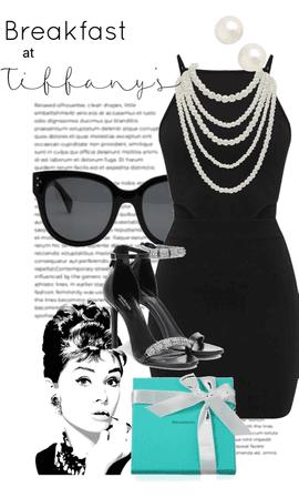 Modern Breakfast at Tiffany's Audrey Hepburn Look