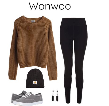 Wonwoo ideal type