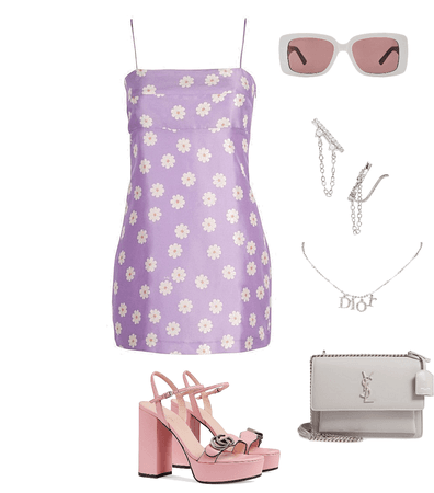 lilac dress