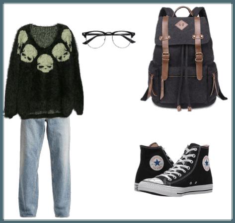 How i dress<3