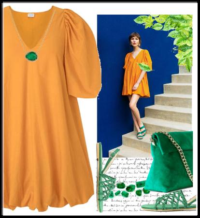 Safron dress- Marni