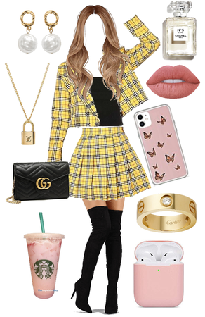 clueless inspired look💛