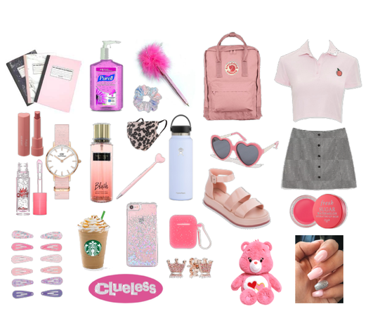 Back to school, but make it girly.