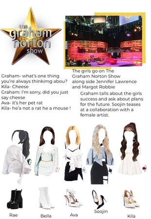 XOC on the Graham Norton Show | Fake girl group