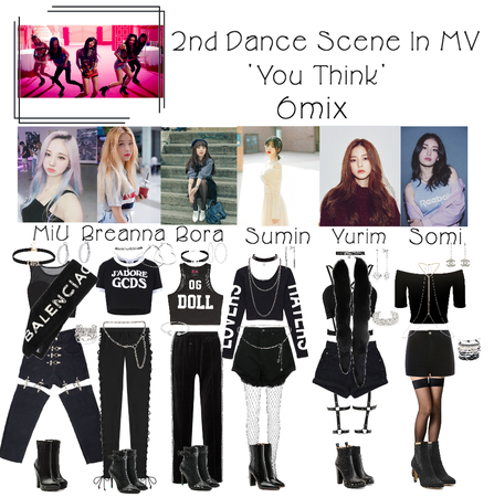 6mix - 'You Think' MV 2nd Dance Scene