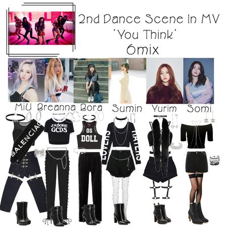 6mix - 'You Think' MV 2nd Dance Scene