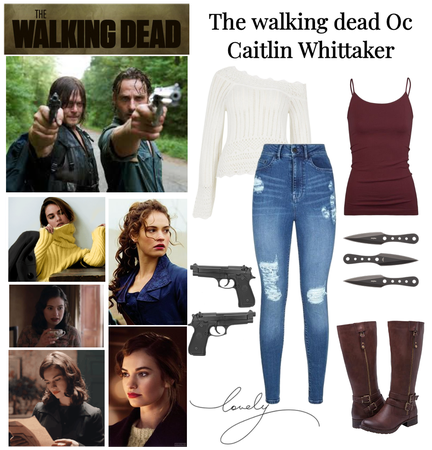 The walking dead Oc Caitlin Whittaker