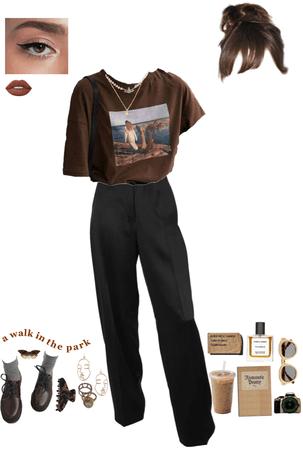 brown