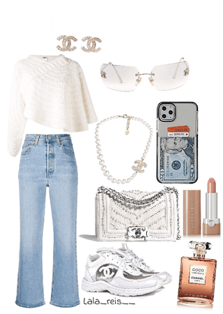 Chanel &Pearls Outfit