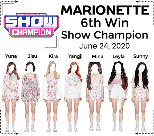 MARIONETTE (마리오네트) [SHOW CHAMPION] 'I'll be yours' Live