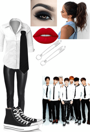 Jina's Boy in Luv outfit (2)