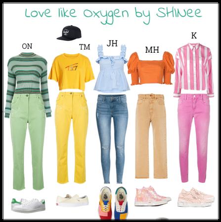Love like Oxygen by SHINee #SC4