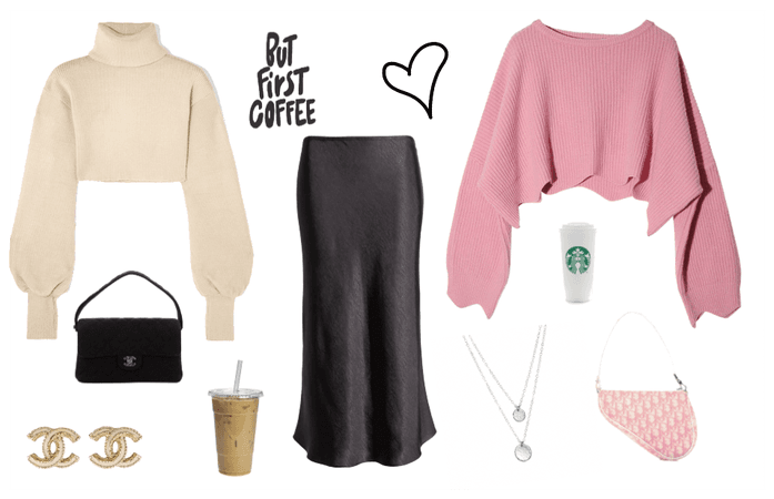 Cropped Sweaters (Midi Skirt trend)