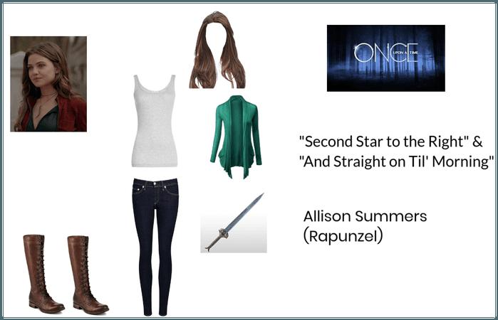 Allison Summers (Rapunzel): OUAT (S2E21 & S2E22)