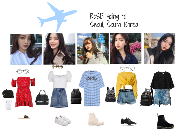 RoSE going to Seoul, South Korea