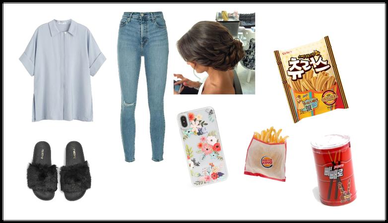 Lazy outfit - Jennie