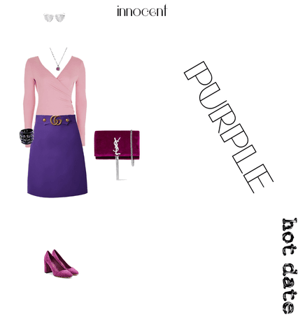 purple innocent hot date