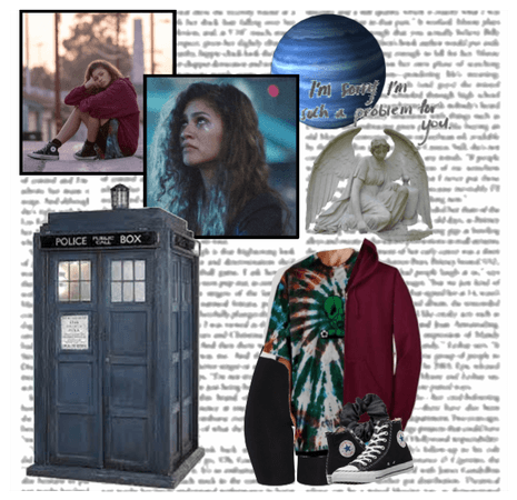 You left me here alone •Bonnie Edwards •Doctor Who