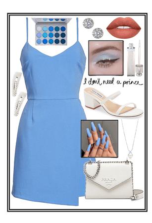 blue dress💙