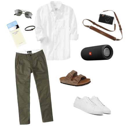 for him: casual