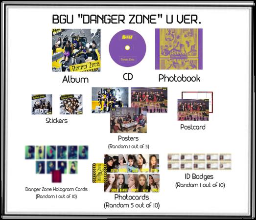 "BGU ""Danger Zone"" U Ver. Album Release"