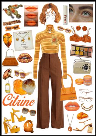 Citrine girl