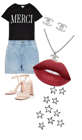 Paris themed outfit