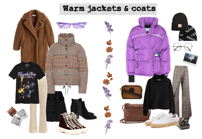 Warm jackets and coats autumn